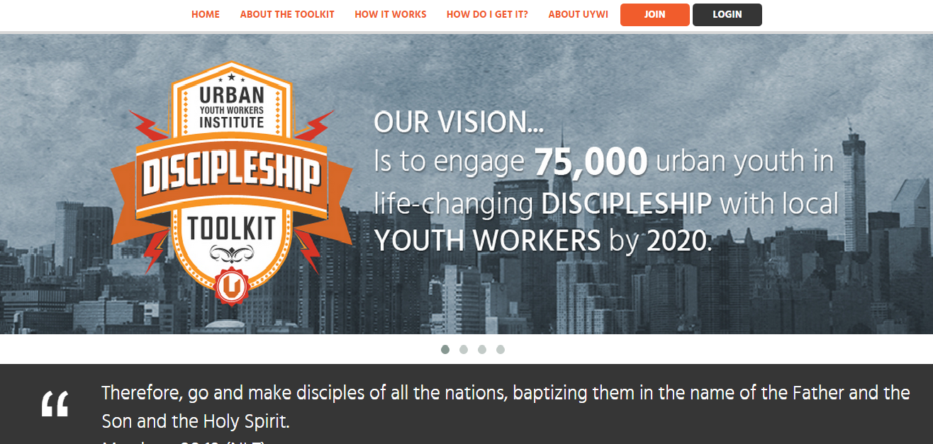 The Discipleship Toolkit
